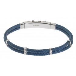 UBR04BL Gents' Bracelet JEWELLERY