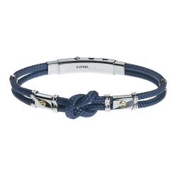 UBR121BL Gents' Bracelet JEWELLERY