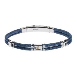 UBR122BL Gents' Bracelet JEWELLERY