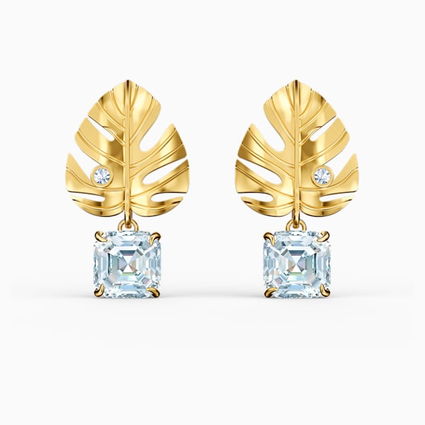 Swarovski Earrings Tropical Leaf 5519253