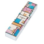 Swatch Composition in Oval with Color Planes 1 by Piet Mondrian, the Watch GZ350