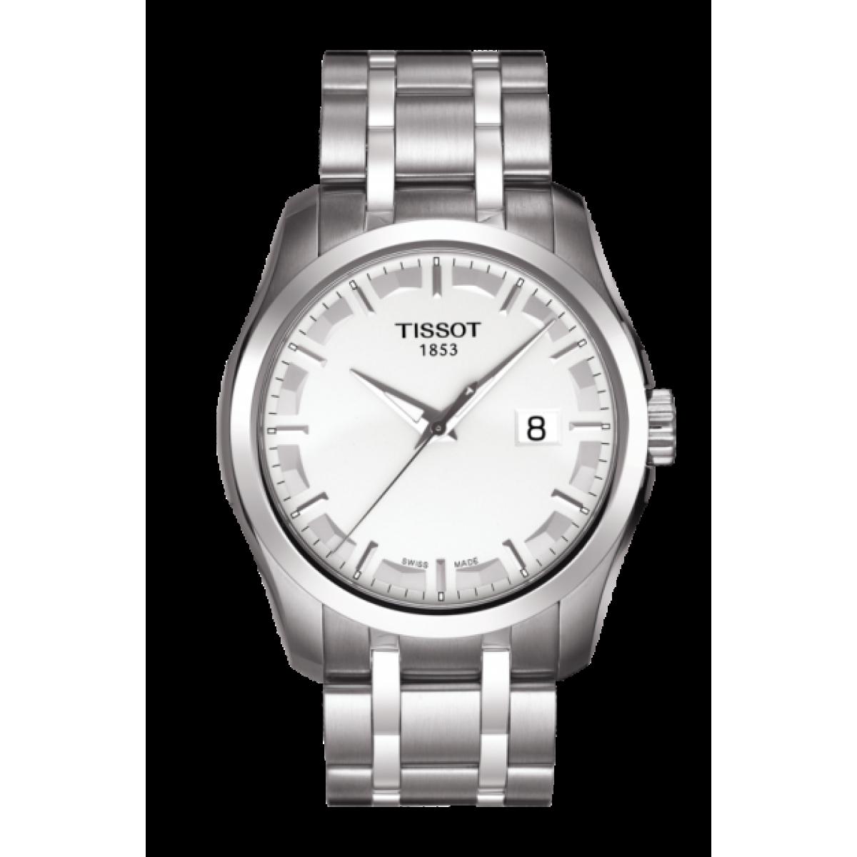 -5% Ρολόι Tissot Couturier T035.410.11.031.00 ΡΟΛΟΓΙΑ 225480ea1fe