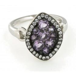 Silver Ring Verita. true luxury 10123982 ΓΥΝΑΙΚΕΙΑ
