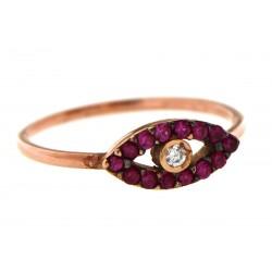 Silver Ring Verita. true luxury 10126081 ΓΥΝΑΙΚΕΙΑ