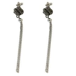 Silver Earrings Verita. True Luxury 10313390