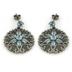 Silver Earrings Verita. True luxury 10322629