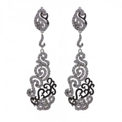 Silver Earrings Verita. True luxury 10322716