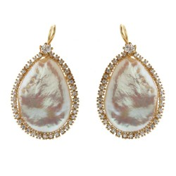 Silver Earrings Verita. True Luxury 10323537 WOMEN'S JEWELLERY