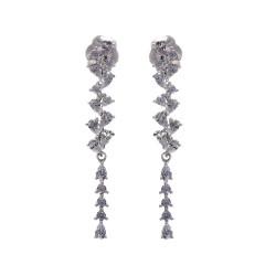 Silver Earrings Verita. True Luxury 10323631 WOMEN'S JEWELLERY