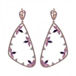 Silver Earrings Verita. True Luxury 10323645