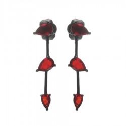 Silver Earrings Verita. True Luxury 10323722