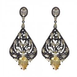 Ladies Earrings - Silver Earrings Verita True Luxury 10323869