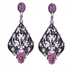 Ladies Earrings - Silver Earrings Verita True Luxury 10323870
