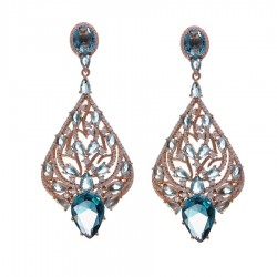 Ladies Earrings - Silver Earrings Verita True Luxury 10323871