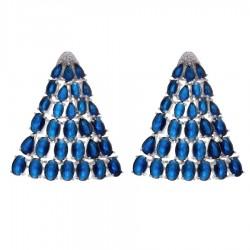 Ladies Earrings - Silver Earrings Verita True Luxury 10323872