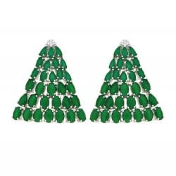 Ladies Earrings - Silver Earrings Verita True Luxury 10323873