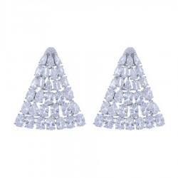 Ladies Earrings - Silver Earrings Verita True Luxury 10323874