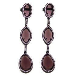 Ladies Earrings - Silver Earrings Verita True Luxury 10323884
