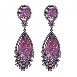 Ladies Earrings - Silver Earrings Verita True Luxury 10323886