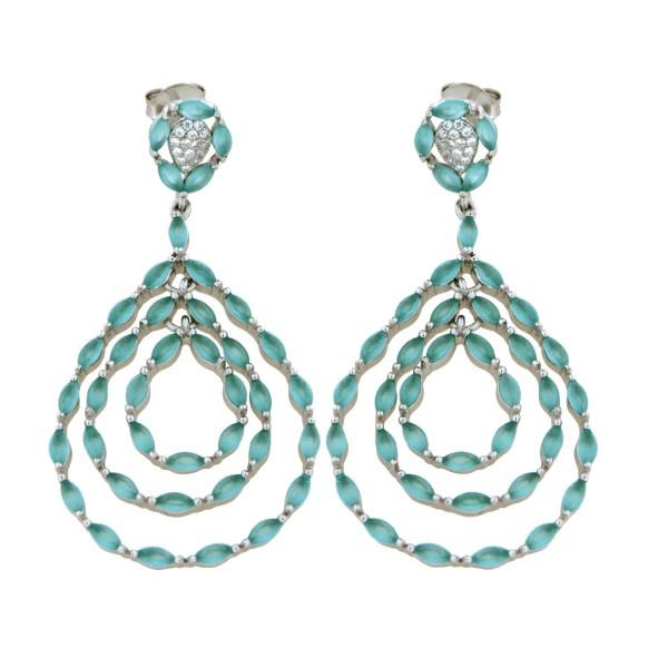Ladies Earrings - Silver Earrings Verita True Luxury 10323909