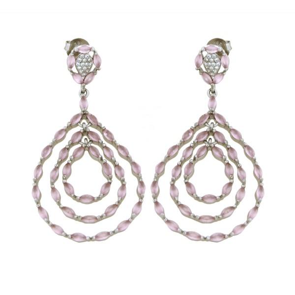 Ladies Earrings - Silver Earrings Verita True Luxury 10323910