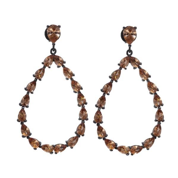 Ladies Earrings - Silver Earrings Verita True Luxury 10323911