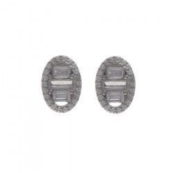 Silver Earrings Verita True Luxury 10323914 WOMEN'S JEWELLERY
