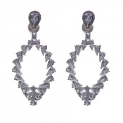 Silver Earrings Verita True Luxury 10323941