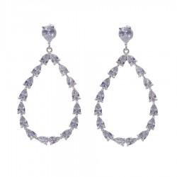 Silver Earrings Verita True Luxury 10323942