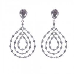 Silver Earrings Verita True Luxury 10323946 WOMEN'S JEWELLERY