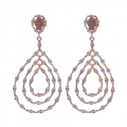 Silver Earrings Verita True Luxury 10323947