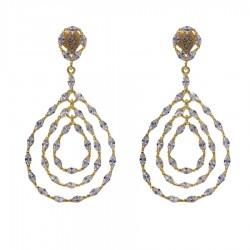 Silver Earrings Verita True Luxury 10323948