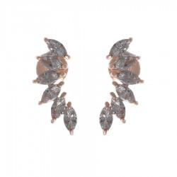 Silver Earrings Verita True Luxury 10323949