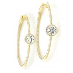 Silver Earrings Verita. True luxury 10322651