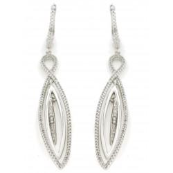 Silver Earrings Verita. True luxury 10322684