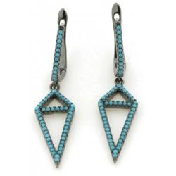 Silver Earrings Verita. True luxury 10323212