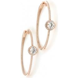 Silver Earrings Verita. True luxury 10323223