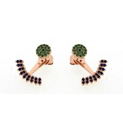 Silver Earrings Verita. True luxury 10323346