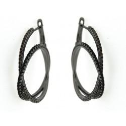 Silver Earrings Verita. True luxury 10323347