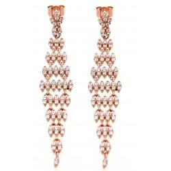 Silver Earrings Verita. True luxury 10323408