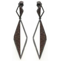 Silver Earrings Verita. True luxury 10323416