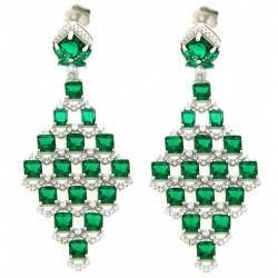 Silver Earrings Verita. True luxury 10323455