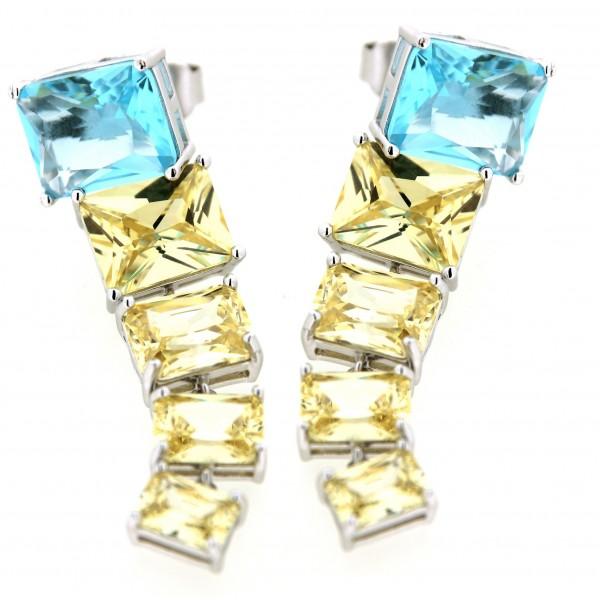 Silver Earrings Verita. True luxury 10323462