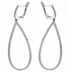Silver Earrings Verita. True luxury 10323466