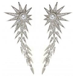 Silver Earrings Verita. True luxury 10323472