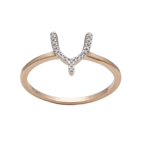 Gold Ring Verita. True Luxury 40130816 WOMEN'S JEWELLERY