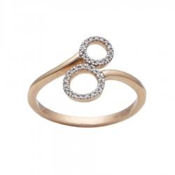 Gold Ring Verita. True Luxury 40130852 WOMEN'S JEWELLERY