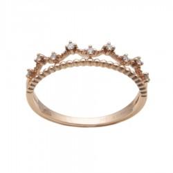 Gold Ring Verita. True Luxury 40130862 WOMEN'S JEWELLERY