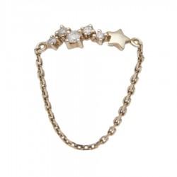 Gold Ring Verita. True Luxury 40130882 WOMEN'S JEWELLERY