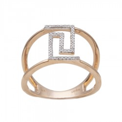 Gold Ring Verita. True Luxury 40130964 WOMEN'S JEWELLERY